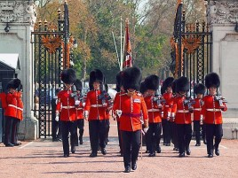 cambio guardia real londres