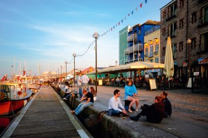 Barrio de Hoe en Plymouth