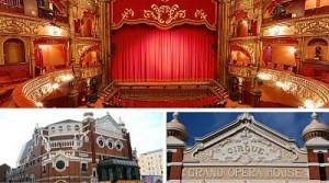 Gran Opera House, situado en Belfast, capital de Irlanda del Norte.