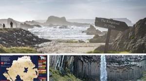 Algunos de los paisajes de Irlanda del Norte que podrás ver en la exitosa serie de televisión.