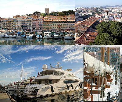 Algunas de las atracciones más típicas de Cannes.