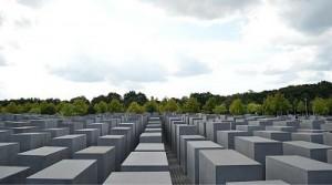 Monumento a los judíos de Europa asesinados en al Segunda Guerra Mundial