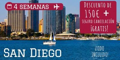 Cursos Ingles San Diego descuento ofertas