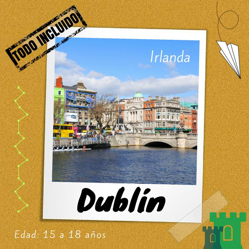 Curso de inglés para jóvenes en Dublín
