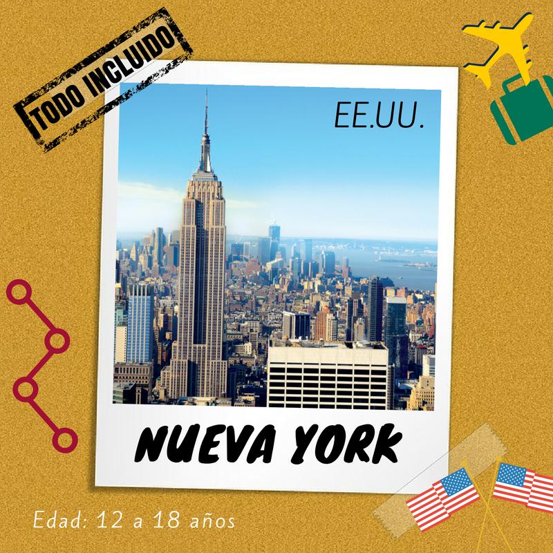 Curso de inglés para jóvenes en Nueva York