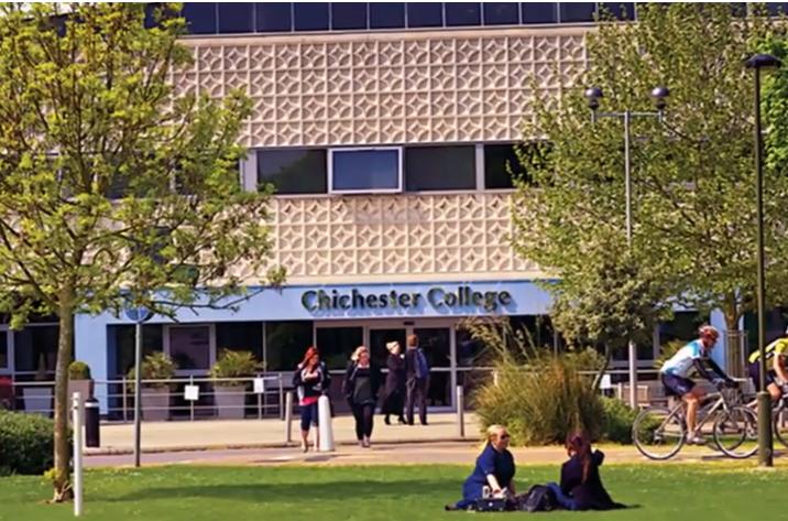 centro de estudios Chichester College en Chichester