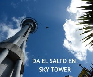 DA EL SALTO EN SKY TOWER