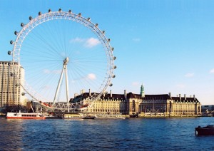 Estudiar en Londres. London Eye
