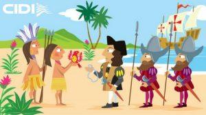 cidi-centro-idiomas-dibujos-dia-hispanidad